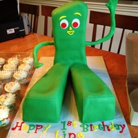 Gumby Cake   Gumby cake