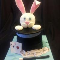 Rabbit In A Hat, Magic Theme. *