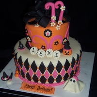 Girly Halloween Birthday This is one of my favorites I made, kinda recently.