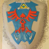 Link's Sheild This is from the game Zelda.