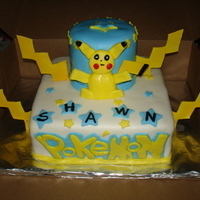Pokemon Cake i made this cake for my nephews birthday!!