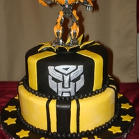 Transformers Cake Transformers cake I made for my nephew.
