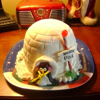Igloo thanks to all those who posted igloo cakes on here...