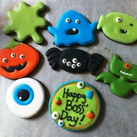 Boss Day Cookies Boss Day cookies from last years' wilton cutter set. Copied the designs right off the box.