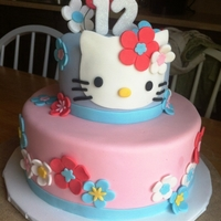 Hello Kitty Hello Kitty birthday cake.