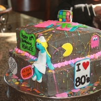I Love The 80's 80's themed bday
