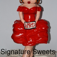 Betty Boop Cake 3Ft Tall Betty Boop Cake 3ft tall