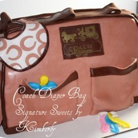 Coach Diaper Bag Coach Diaper bag for a baby shower