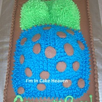 Expecting Baby Shower Cake Buttercream Icing   Expecting Baby Shower Cake / Buttercream Icing