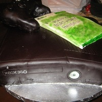 Xbox Birthday Cake Did this for a friend of mine, made the remote out of RKTs