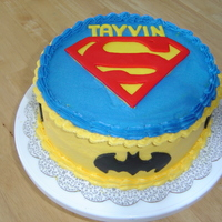 Super Hero Super Hero cake for my nephew's 5th birthday.
