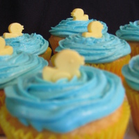 Duck Cupcakes For A Baby Shower