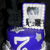 Never Say Never~ Justin Bieber 7th Birthday cake~