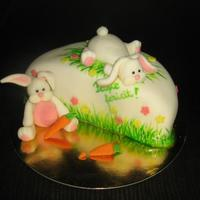 Another Bunny Easter Cake *Another bunny Easter cake.