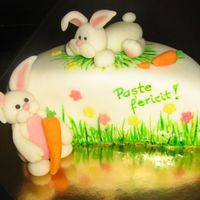 Bunnies Easter Cake *Bunnies Easter cake.
