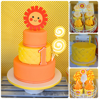 Sunshine And Lollipops Sunshine and Lollipops Cake