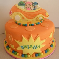 Team Umizoomi Cake Team Umizoomi themed birthday cake. Topper is hand-cut fondant/gumpaste.