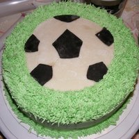 Soccer Cake Soccer cake, All BC except the soccer ball is MMF