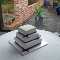 Purple Square 3 Tier purple square 3 tier