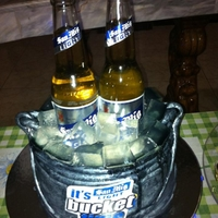 San Mig Light Bucket Cake