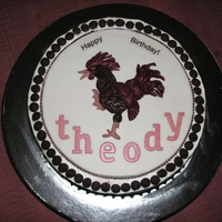 Rooster Cake rooster