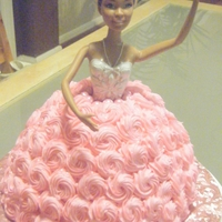 Princess Birthday Princess cake