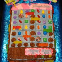 Candy Crush Time! Candy crush cake!
