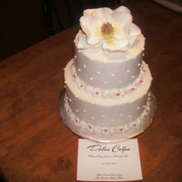 Lance Wedding Cannoli Cake With Ibc And Gumpaste Magnolia Lance Wedding - Cannoli Cake with IBC and gumpaste magnolia.