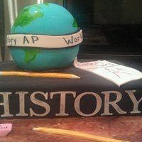 World History Ap Cake made for my daughters world history class party