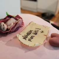 "Baby In A Rosebud   ""see you soon mom"""
