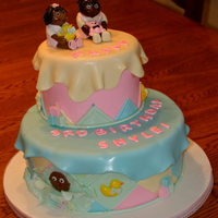 Cabbage Patch Kid Birthday Cake