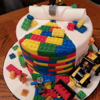 Lego Birthday Cake For James