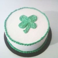 St Patrick's Day Red Velvet Cake