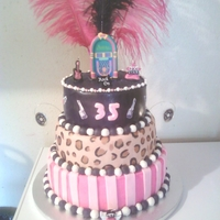 Cassandra's 35Th Birthday Cake