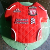 Liverpool Football Shirt Liverpool Football shirt 2011-2012 home kit Edible badges
