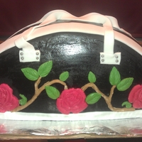 Purse Cake This was done for my BFF...TFL