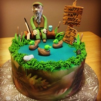 Duck Dynasty Birthday Cake Duck Dynasty Birthday Cake :)