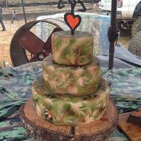 Hunting Camo Wedding Cake Made For Animal Planet Show Called Mud Lovin Rednecks Hunting camo wedding cakeMade for Animal Planet Show called Mud Lovin Rednecks :)