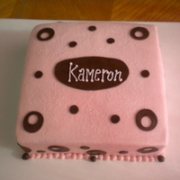 Buttercream With Fondant Accents