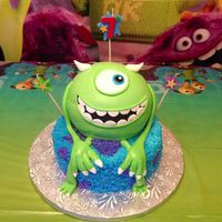 Monster's University Theme Cake