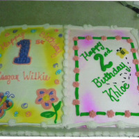 Reagan And Khloe Made for two little cousins with birthdays on the same day.