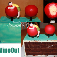 Wipeout Cake One of the first cakes I made this year was a WipeOut cake for my husband's birthday. It was my first time making and using Italian...