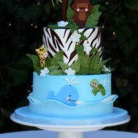 Precious Planet Themed Baby Shower Cake Precious Planet themed baby shower cake.