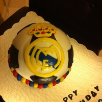 Byron's Real Madrid Black forest cake with MMF