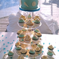 Beachside Blue Wedding
