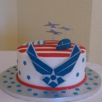 Air Force Grooms Cake