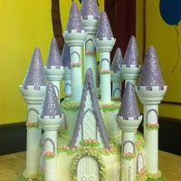 Wilton Romantic Castle Cake I made the Wilton castle cake for my BFF's daughters 3rd birthday party. I read as many reviews / accounts of making this cake as...