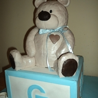 Bear On A Box