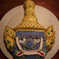 Thai Yaksha Demon My husband had an Asian-themed potluck at work. I decided to go with something a bit off the norm, and I loved the colors and designs of...