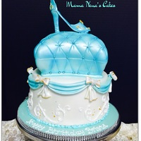 Princess Cinderella Inspired Cake